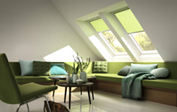 Bild - Original VELUX Dachfenster Rollo